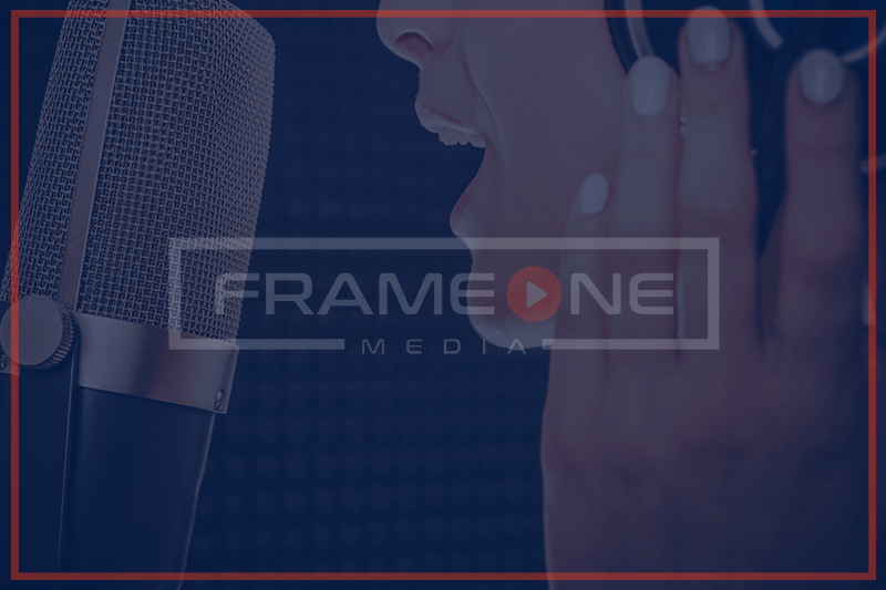 Audio Production at Frame One Media